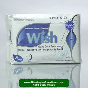 Jual Premium Sanitary Napkin Night Wishboyke Surabaya