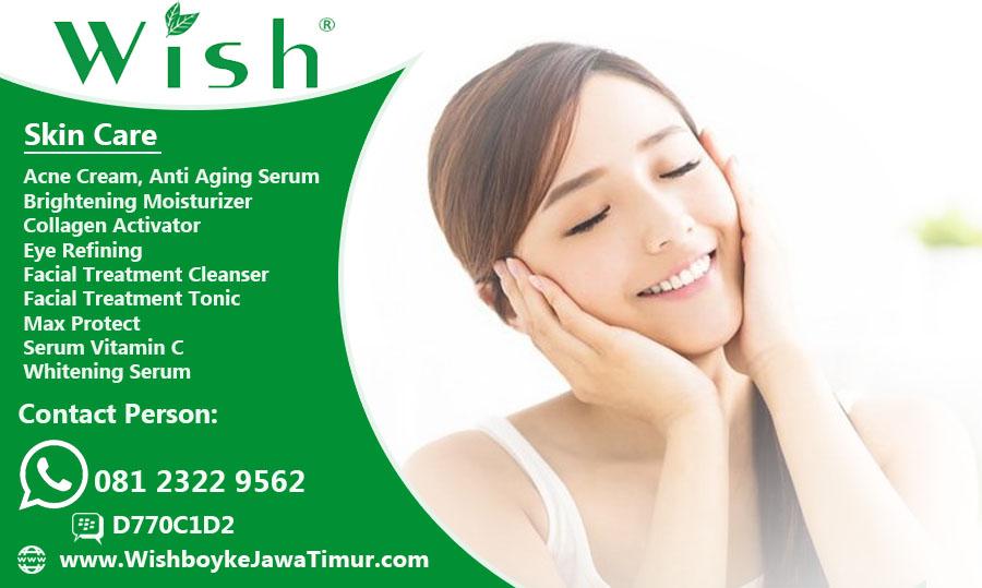Produk Wish Skin Clinic dokter Boyke Original