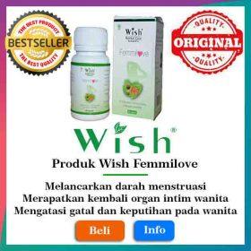 Produk Wish Femmilove Original Surabaya Medan Pekan Baru Palembang Makassar Asli wishboykejawatimur new
