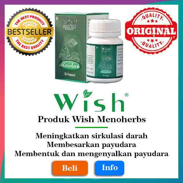 Produk Wish Menoherbs Original Surabaya Medan Pekan Baru Palembang Makassar Asli wishboykejawatimur new